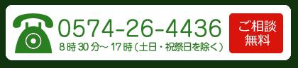 電話:(0574)26-4436